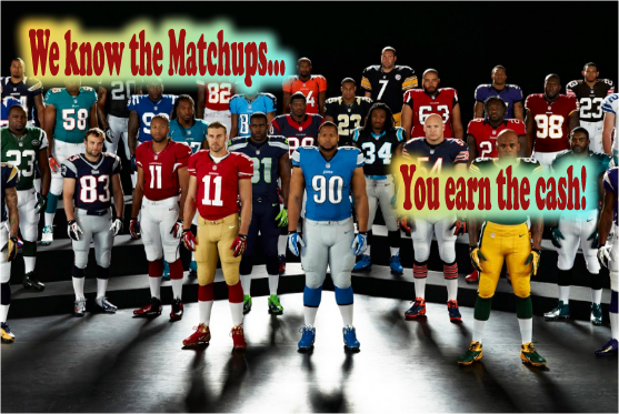 Matchups play a huge role in the Daily Fantasy Contests...